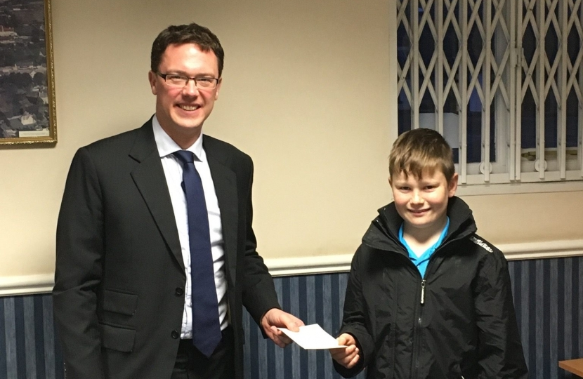 Witney's young citizen of the year