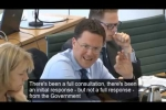 Embedded thumbnail for Robert Grills Grayling About Major Road Network Progress at Select Committee Session