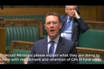 Embedded thumbnail for Robert raises Cogges Surgery and recruitment of GPs with the Secretary of State for Health
