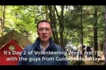 Embedded thumbnail for Robert joins volunteers at Guidepost's Forest School at Hilltop Garden Centre