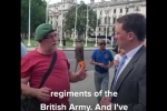 Embedded thumbnail for Robert Speaks to Veterans Protesting Against Historic Allegations