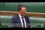 Embedded thumbnail for Robert asks Ministers for potholes to be fixed whilst broadband is being installed in our roads