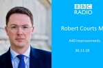 Embedded thumbnail for BBC Radio Oxford - Robert Discusses A40 Improvement Consultation