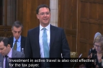 Embedded thumbnail for Robert Leads Debate on Active Travel
