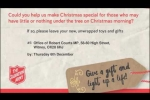 Embedded thumbnail for Robert Launches Christmas Toy Appeal